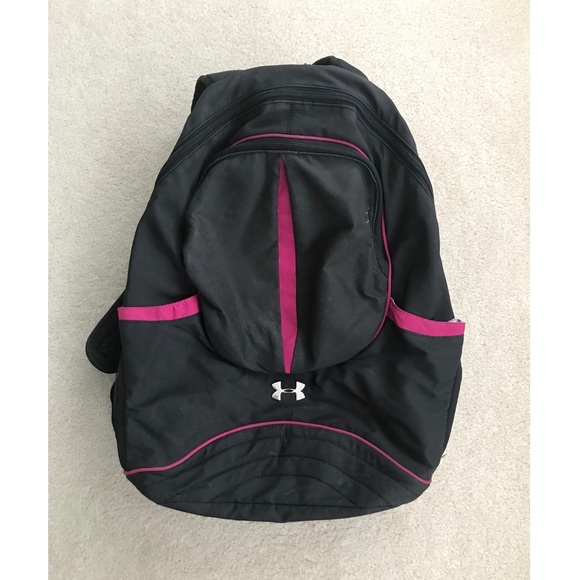 930330e960a0 Under Armour Black and Pink Backpack (PRICE FIRM!)  M 5a52facc3800c52a3901b4ba
